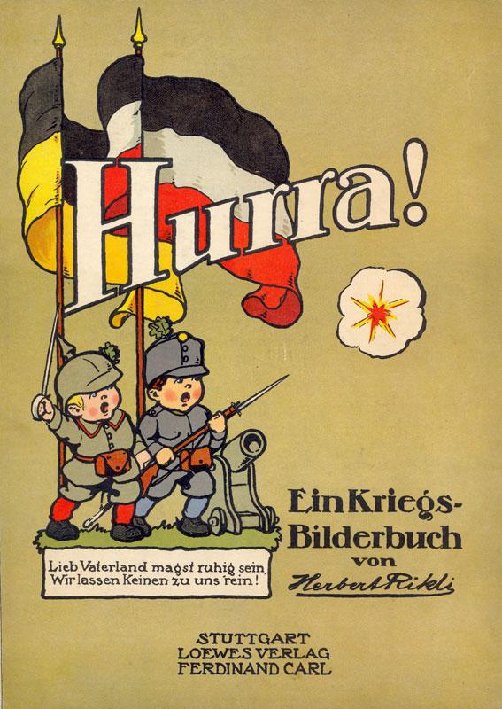 Ausstellung das kinderbuch erklärt den krieg der erste